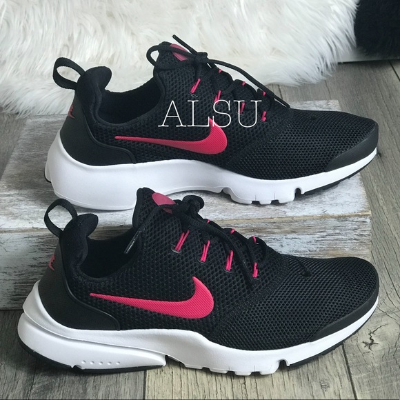 e30b4f939f4c Nike Presto Fly GS Black Rush Pink W AUTHENTIC